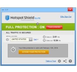 Hot Spot Shield